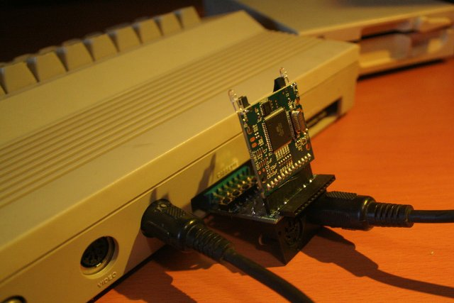 Give your Commodore 64 new life with an SD card reader