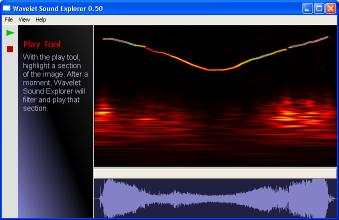 Wavelet Sound Explorer